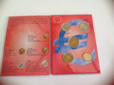 Collecteur Annee 2003 Monaco 5 Pieces  Unc