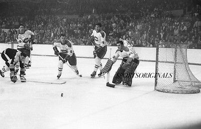 Original 35mm B&W Negative of Rogie Vachon of the Montreal Canadiens