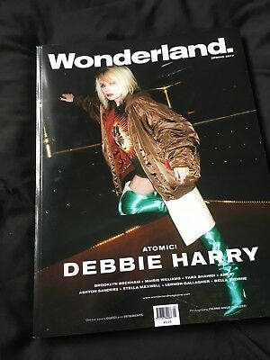 Debbie Harry Blondie Wonderland Magazine