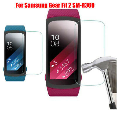 5PCS Intelligent HD Film LCD Screen Protective For Samsung Gear Fit 2 SM-R360