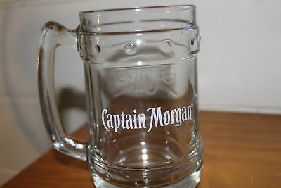 9 x Captain Morgan Embossed Tankards
