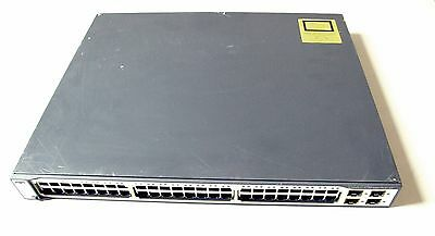 Cisco WS-C3750-48PS-S 3750 Series PoE 48 Port Gigabit Switch