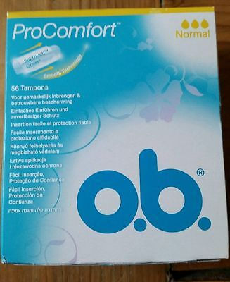 Best ever tampon: o.b. ProComfort normal*** 56 pieces