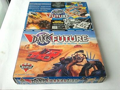 Empty Box for DARK FUTURE Games Workshop 1988 Warhammer 40000 40k