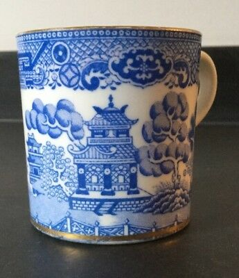 willow pattern coffee cup