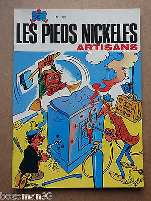 LES PIEDS NICKELES n° 80  ARTISANS REED PLASTIFIEE S.P.E 1980