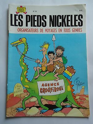 "LES PIEDS NICKELES n° 50 "" ORGANISATEURS....   "" REEDITION PLASTIFIEE S.P.E 1983"