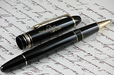 """MONTBLANC LE GRAND 162 MEISTERSTUCK """" Tim nauti """" BY TIM ROLLERBALL PEN"""