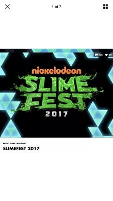 nickelodeon slimefest 2017 Blackpool X2 Pleasure Beach Passes MON 23rd Oct 1pm