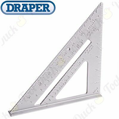 "Heavy Duty ROOFERS SQUARE 180mm/7"" Metric/Imperial Precision Measuring Size Tool"