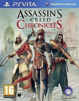 PS Vita Assassin's Creed Chronicles Trilogie