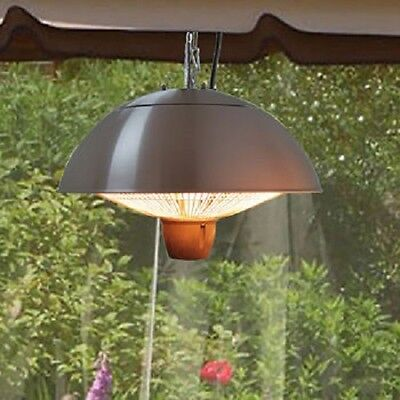 EnerG+ Infrared Silver Gazebo Heater 1,500 W - Outdoor Heater - Patio Heater