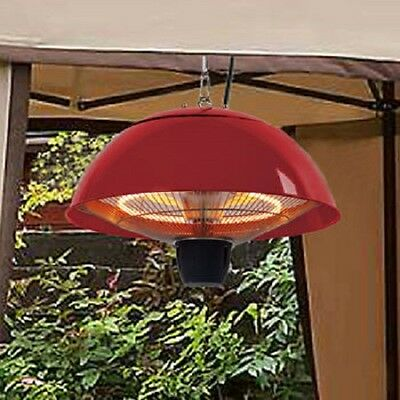 EnerG+ Infrared Red Gazebo Heater 1,500 W - Outdoor Heater - Patio Heater