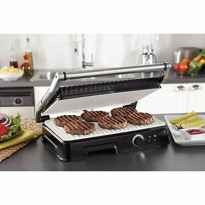 Oster Duraceramic XL Panini Maker and Indoor Grill