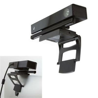 Black TV Clip Mount for Kinect 2.0 Sensor (Microsoft Xbox One) Motion Gaming LW