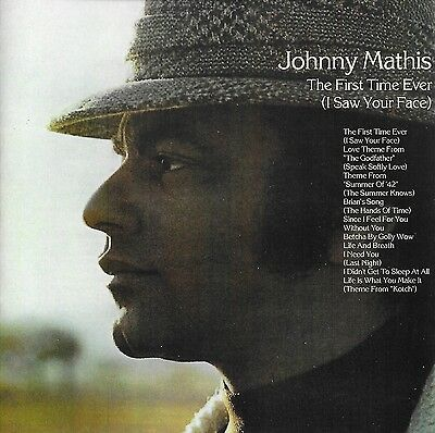 Johnny Mathis - The First Time Ever ( I Saw Your Face ) CD  Ultra Rare
