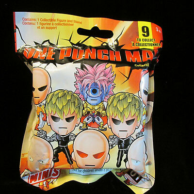 ONE PUNCH MAN Original Minis Series 1  Mystery Pack Collectible Figure/Stand NEW