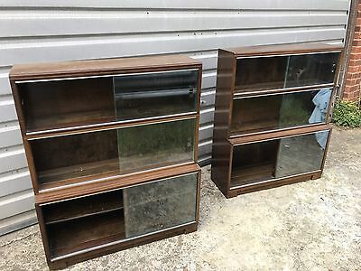 Pair of Minty Bookcases