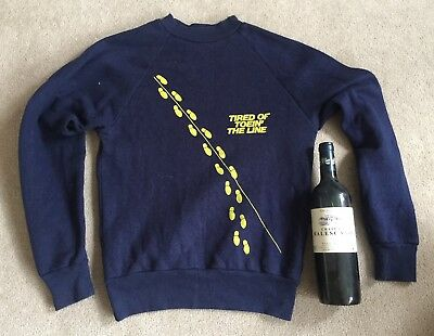 An Authentic Rocky Burnette Tired Of Toen The Line Rockabilly Sweat Shirt