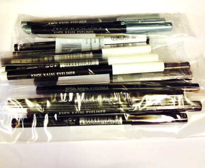 Manhattan Eyeliners Wholesale Joblot Pack Of 24 Assorted Colours Brand New