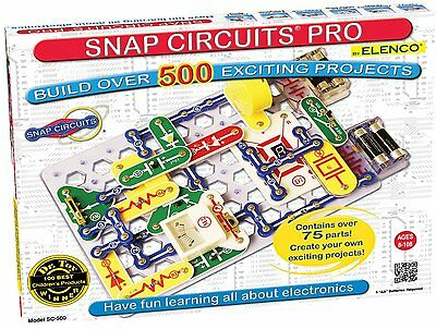 Snap Circuits PRO SC-500 - Build 500 experiments