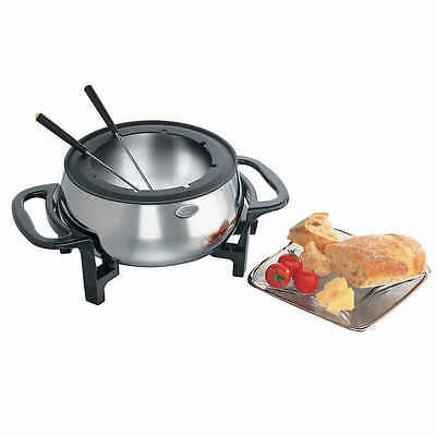 Rival Stainless Steel Electric Fondue Set