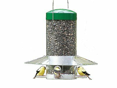 "Birds Choice 12"" Classic Hanging Tube Bird Feeder"