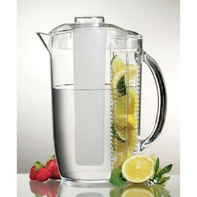 Prodyne Iced Fruit Infusion Pitcher- Pack of 2 Pitchers