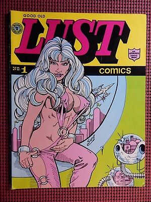 Good Old Lust Comics 1972 Robert Susor 500 Copies magazine Size Limited Ed Publ.