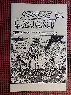 Mobile Destruct #2 APC Publications 1985 25 Copies