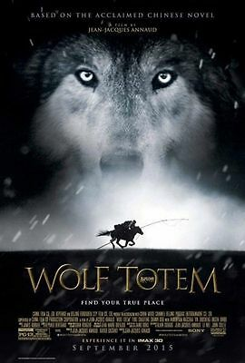WOLF TOTEM Movie Poster - Original - DS - 27x40 - FINAL