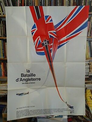 THE BATTLE OF BRITAIN/ FRENCH poster