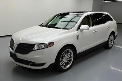 2015 Lincoln MKT EcoBoost Sport Utility 4-Door 2015 LINCOLN MKT ECOBOOST AWD ELITE PANO NAV 20'S 19K #L01468 Texas Direct Auto