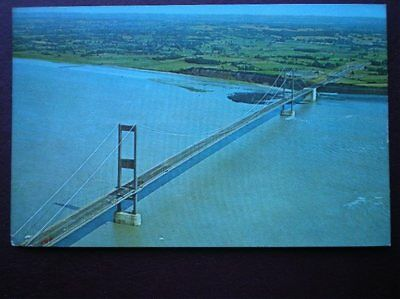 Postcard Monmouthshire The Severn Bridge Aerial View