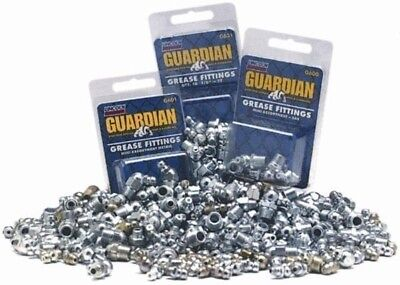 5 Pack of Lincoln Guardian Grease Fittings  SAE 8 Pc  G600 Total 40 Pc