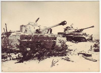 Wwii Russian Press Photo: Destroyed German Tanks, Stalingrad Campaign, 1943