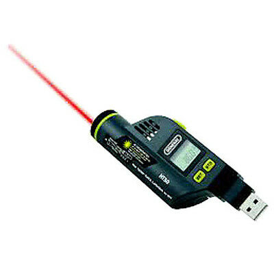 General Tools HT50 Usb Rh/Temperature Data Logger with Lcd & Ir Thermo