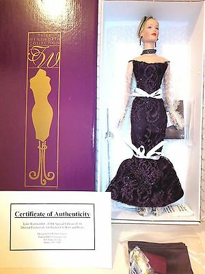 Tonner doll FASHION DESIGN WEEKLY SPECIAL EDITION  LIMITED TO 60 DOLLS nrfb new