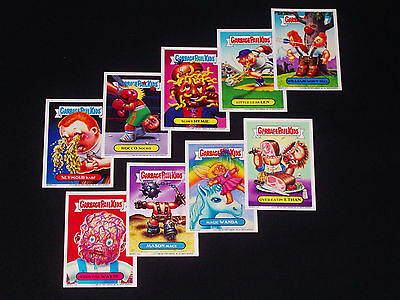 GARBAGE PAIL KIDS - 2006 - All New Series 5 - Complete Magnet Set - 9 Cards ANS5