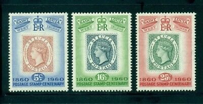 St. Lucia MNH Selections: Scott #176-178 Postage Stamp Centenary 1860 $$