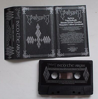 Poison - Into The Abyss Tape (Death Thrash Metal, Sodom, Hellhammer, Morbid)