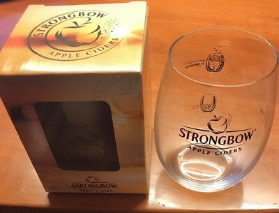 Strongbow Apple Cidre Glas Ovp