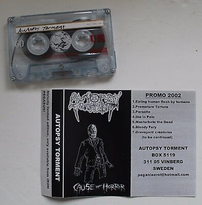 Autopsy Torment - Cause Of Horror Promo Tape (Death Metal, Obituary, Entombed)
