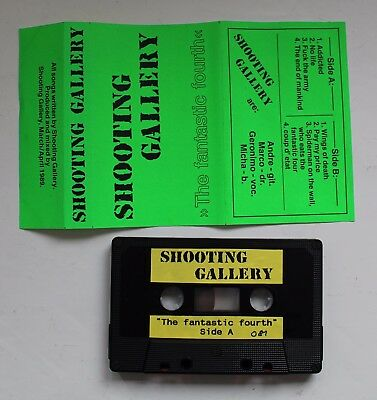 Shooting Gallery - The Fantastic Fourth Demo '89 (Speed Metal, Protector, Death)