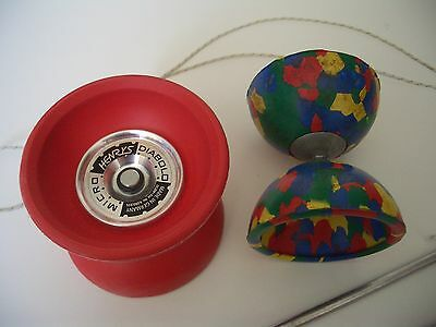 Juggling Set Henrys Micro Diabolo & Mr Babache Small Diabolo Inc Sticks & Book