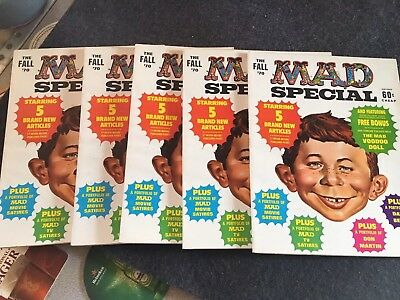 5-1970 MAD Magazine Fall '70 Special  w/ Voodoo Doll Insert  All Mint Unread