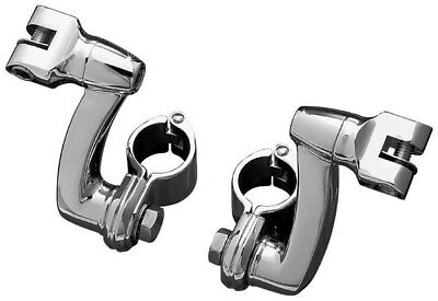 Kuryakyn Longhorn Offset Footpeg Mounts With 1-1/4 Clamp