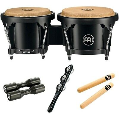 Meinl HB50 Bongo Set with Free Shaker and Claves  190839154378 Open Box