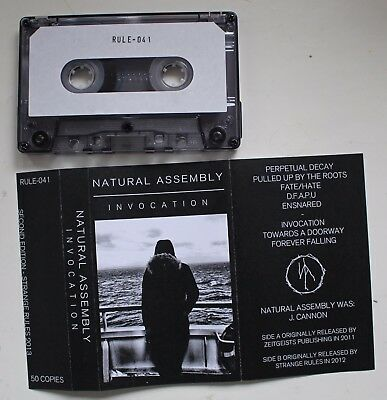 Natural Assembly - Invocation Tape (Darkwave, Synth-Pop, Industrial, Prurient)