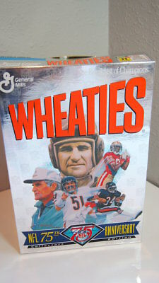 NFL 75th Anniversary Wheaties Box Collectors Edition Sports